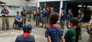 Subsecretário Municipal Geraldo Nogueira entrega Certificados