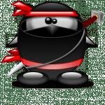 tux-ninja_ronchon-tux