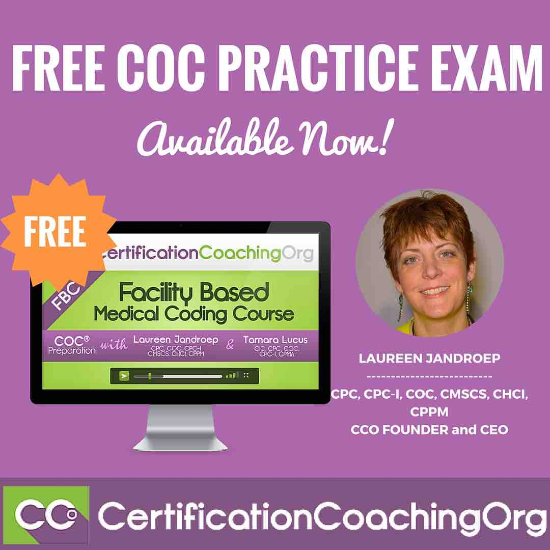 Free Coc Practice Exam From Cco