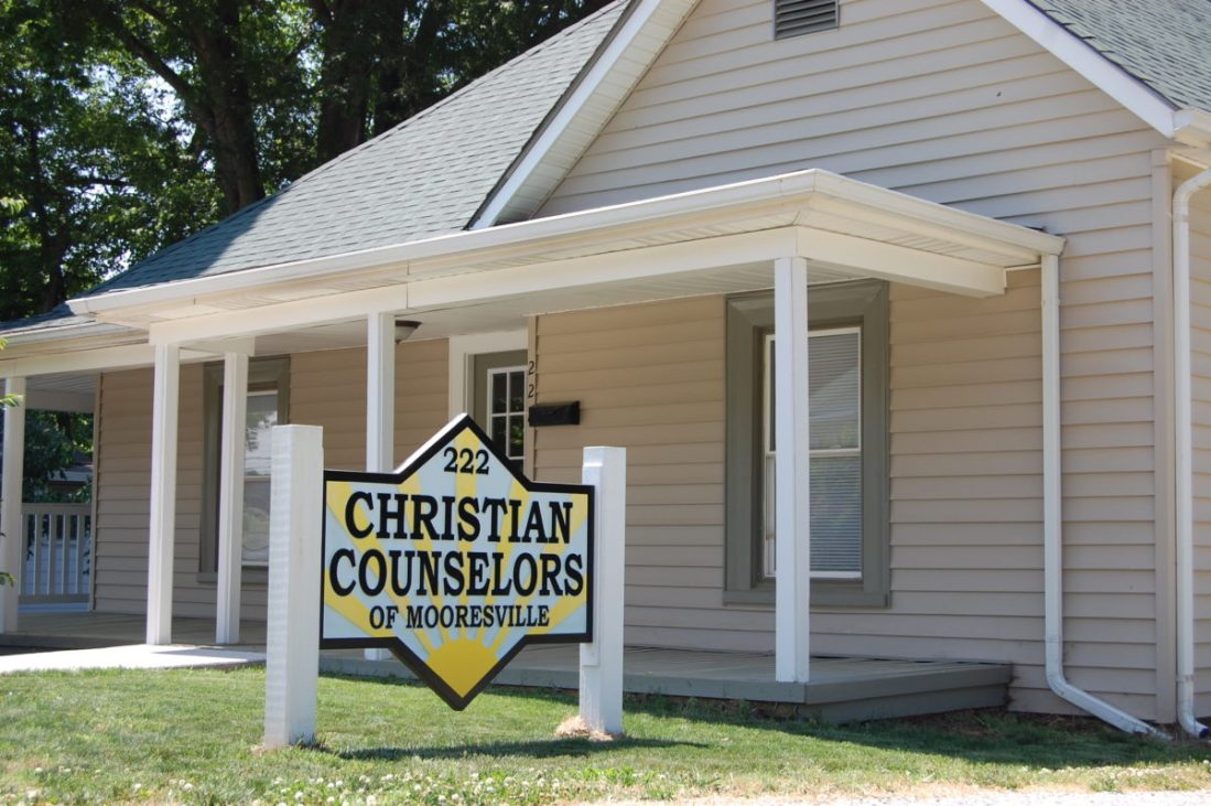 Outside view of Christian Counselors of Mooresville