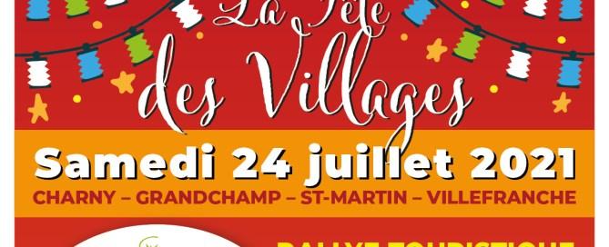 La Fête des Villages 24 juillet 2021 Charny Orée de Puisaye
