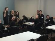 Student life at CCPA.