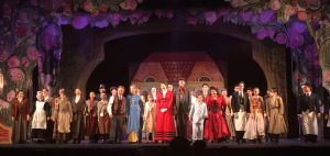 Onstage in TUTS' Mary Poppins.