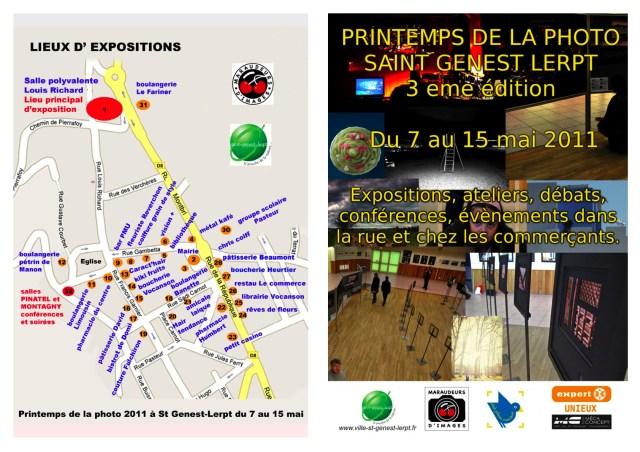 program cover for Printemps de la Photo
