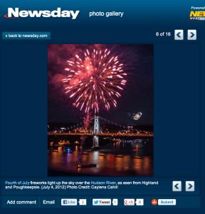 Fireworks Photos Published on Newsday