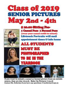 Upsoming Senior Yearbook Pictures