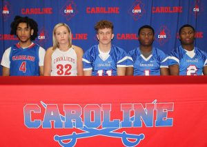 2018 Caroline Hish School graduates playing sports in college