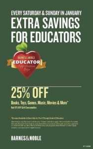 Educator Appreciation Flyer