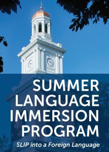 UMW Language Immersion program