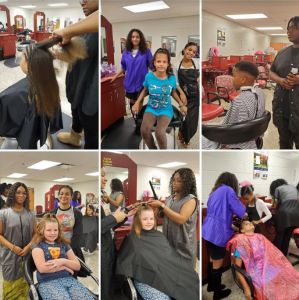 Barber and Beauty collage