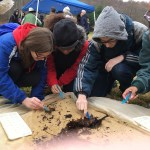 Caroline High School students prepare for the environthon competition through a training at Graves Mountain