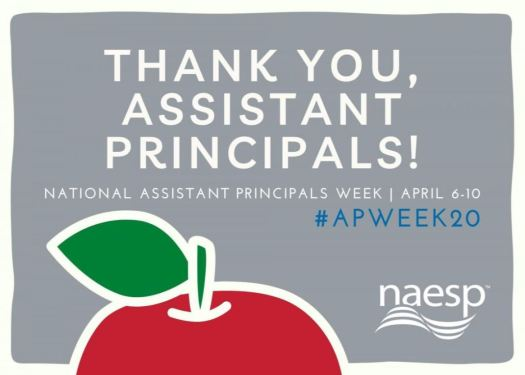 Thank you assistant principals