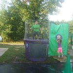 Dunk Booth at Last Year's Back to School Carnival