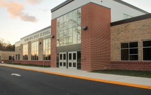 Picture of Caroline High School in December 2016