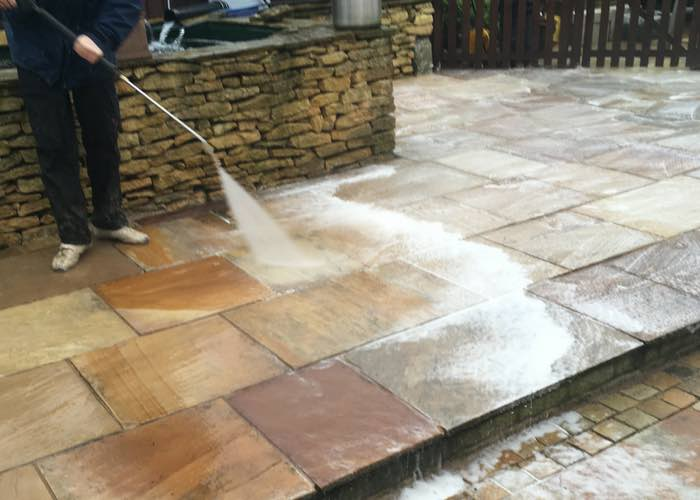 How to maintain your patio during the summer and winter