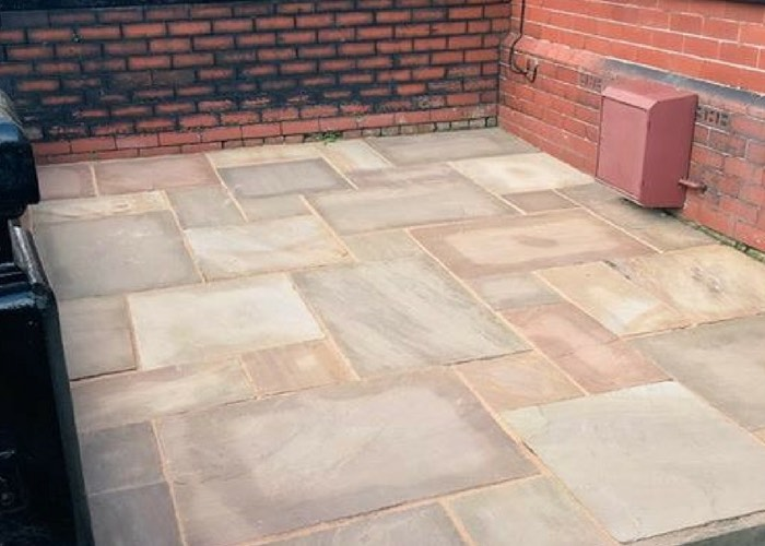 Patio Cleaning in Birkdale