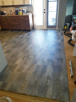 New Kitchen Floor installed