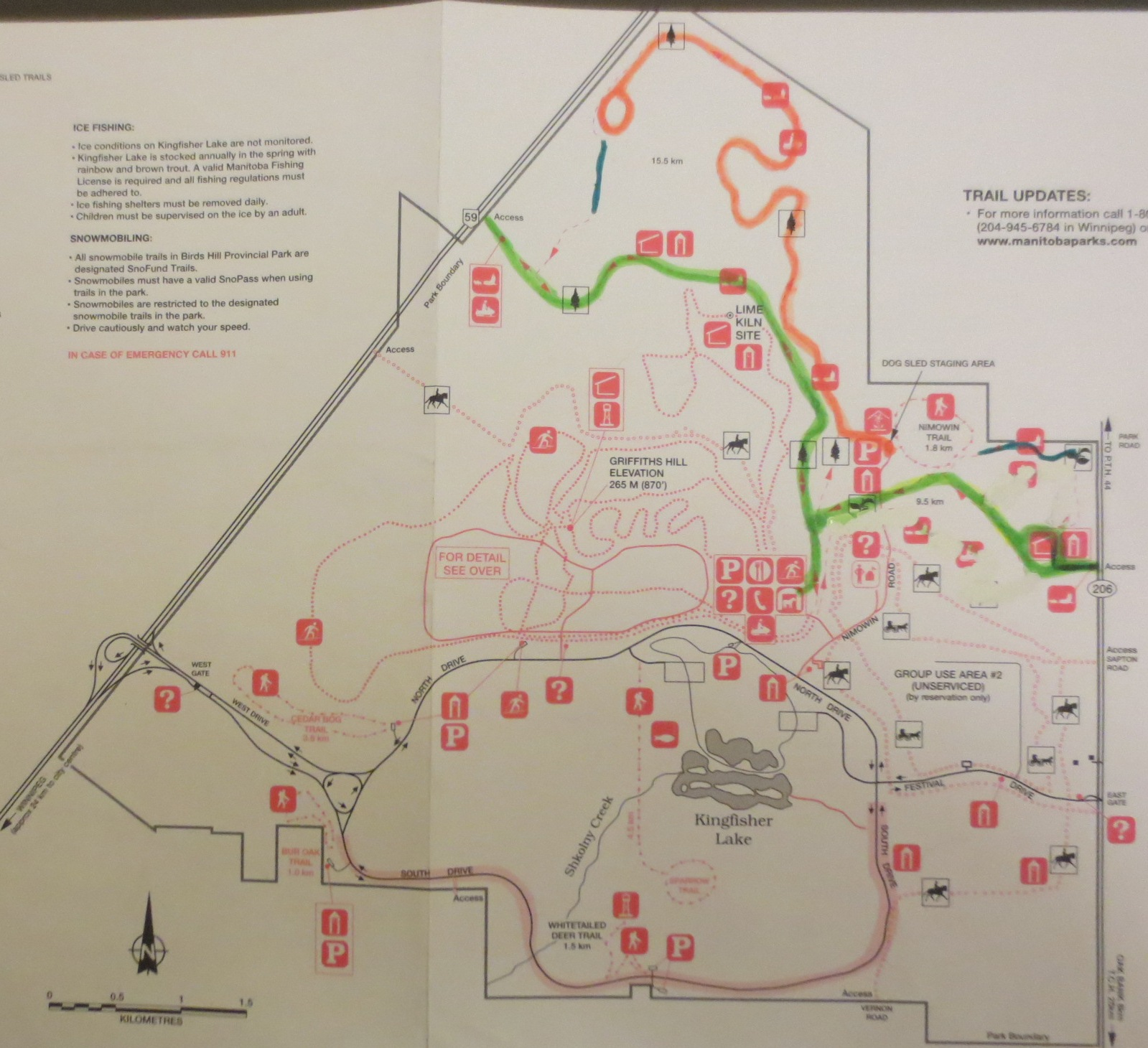 Birds Hill Provincial Park\'s Draft Trails Plan - Cross Country Ski ...