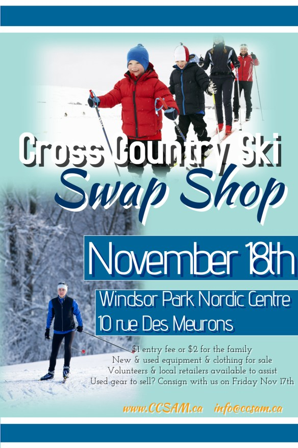44a82483497 Please bring your items to the Nordic Centre on Friday evening – Nov 17th –  between 4 00 – 9 00 PM. Please bring photo ID with you. We retain 15%  commission ...
