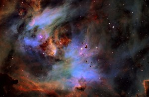 NASA image of the running chicken nebula