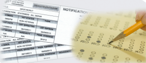 Website Exam Score Card Image