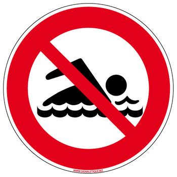 Baignade interdite au lac de Pont