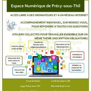 Espace Numérique – Précy-sous-Thil