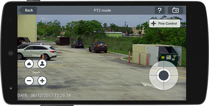 IPhone App PTZ Kamera Android