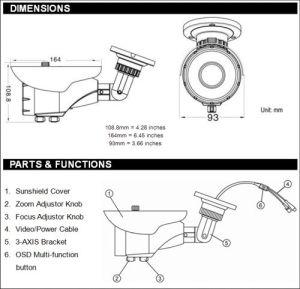 IR Day Night CCTV Camera | CCTV Camera Pros Infrared Day
