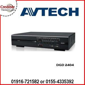 AVTECH DGD2404 Avtech HD-TVI DVR