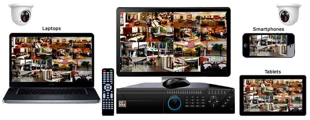 NVR Video Security Camera Systems