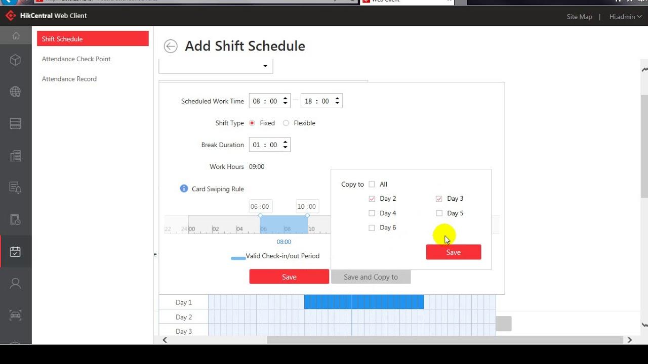 HikCentral_Time & Attendance Module – CCTVSG.NET
