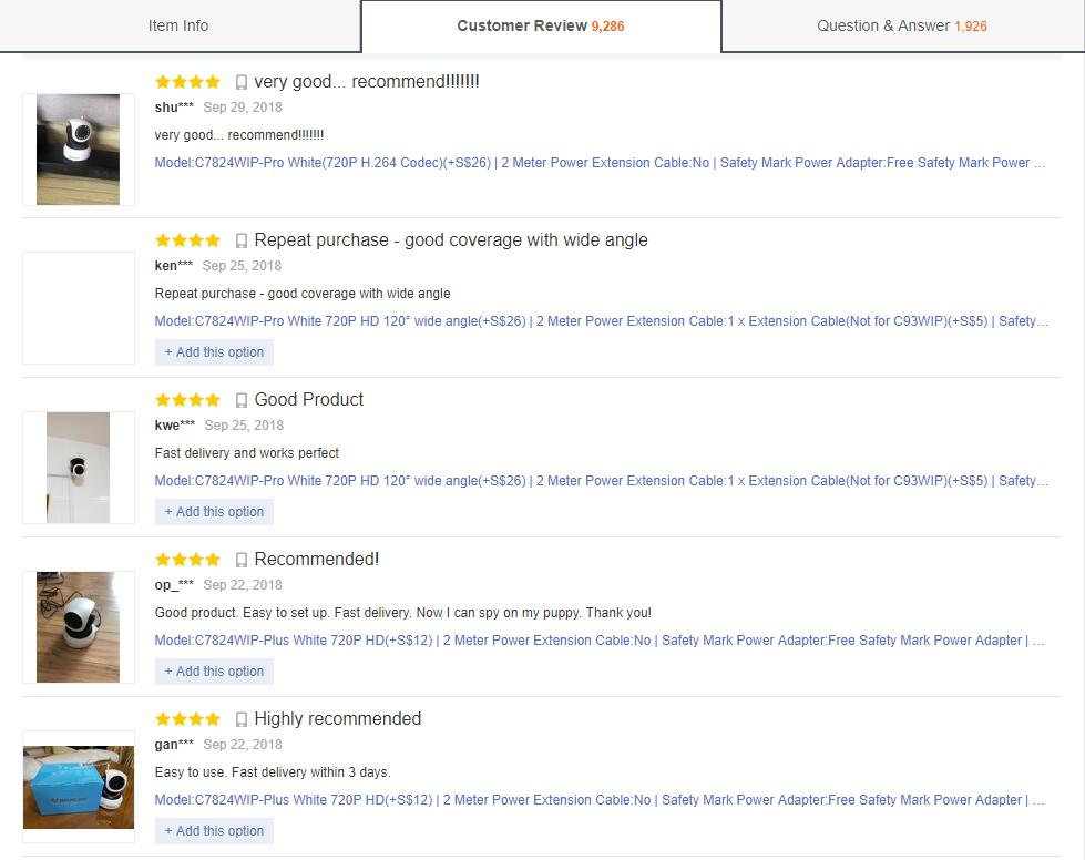 Retail Customer Review 3