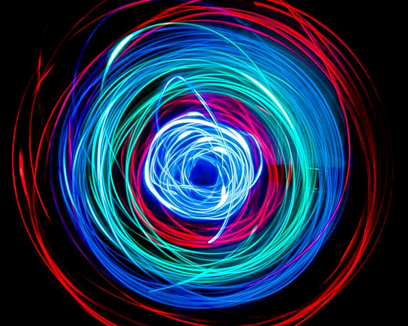 Light painting e finger-leds