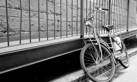 Biciclette parcheggiate: 4 scatti