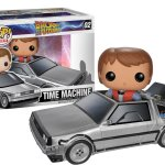 Funko - Figurine Retour vers le futur - Delorean & Marty - Pop collection