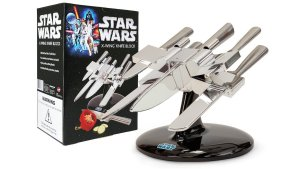Star Wars - Guerre Stellari - X-Wing in versione porta coltelli con licenza ufficiale
