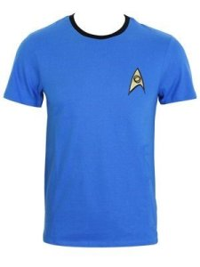 Star Trek - T-shirt ispirata all'uniforme di Mr. Spock