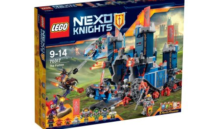 Lego Next Nights The Fortrex 70317 time lapse