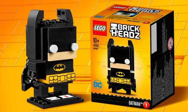 LEGO BrickHeadz 41585 Batman time-lapse