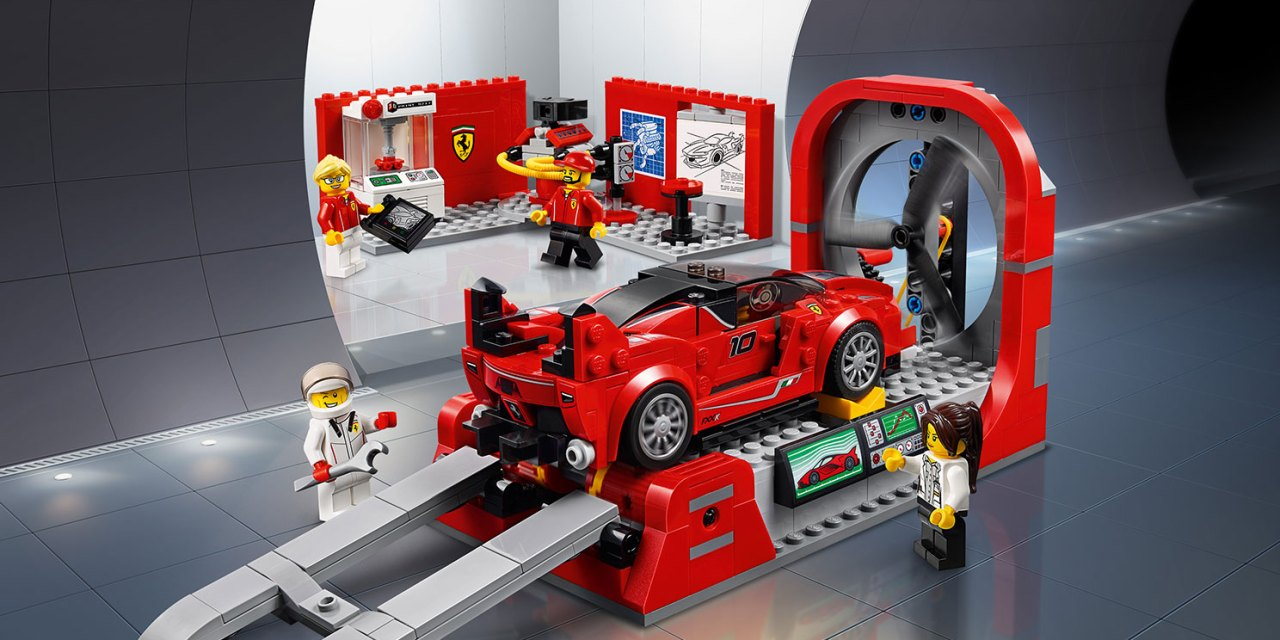 LEGO Speed Champions 75882 Ferrari FXX K e DEV Center – Time lapse