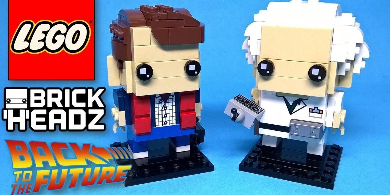 Lego Brick Headz 41611 Marty McFly & Doc Brown