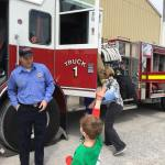 Tours of the Firetruck!
