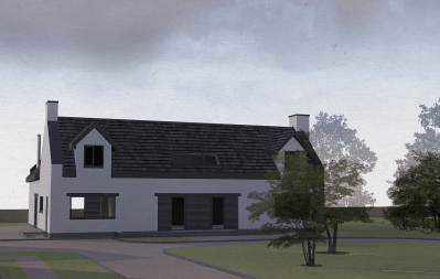 cd architects, architect in lanarkshire, allanton new build houses01