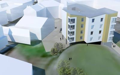 Planning Approval, Affordable Housing, Airdrie Town Centre