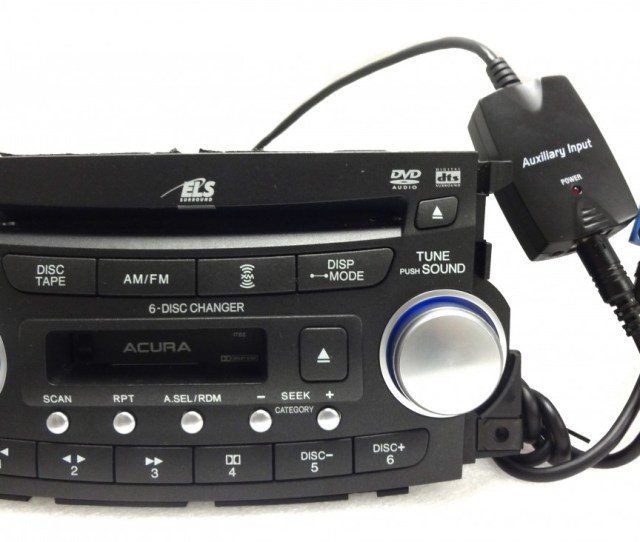 New Honda Accord Acura Ipod Iphone Adapter Aux Auxiliary For Radio Cd Player Ebay