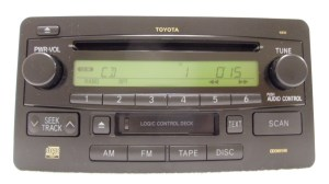TOYOTA Tundra Sequoia JBL AM FM Radio Stereo Tape Cassette