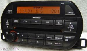 02 03 04 NISSAN Altima Bose Radio Stereo Receiver 6 Disc