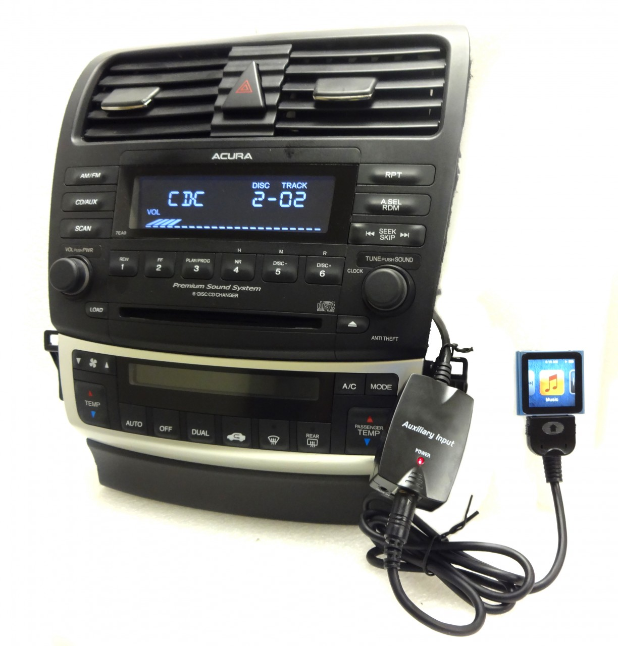 NEW HONDA Accord ACURA IPod IPhone Adapter AUX Auxiliary