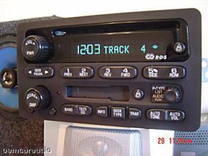 GM Chevy Radio Receiver AM FM Stereo CD PLAYER Tape Cassette Deck 15295372 OEM | eBay